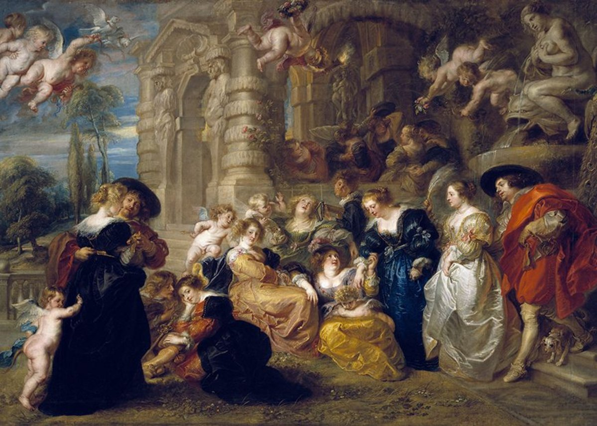 Peter Paul Rubens, The Garden of Love, c. 1633.