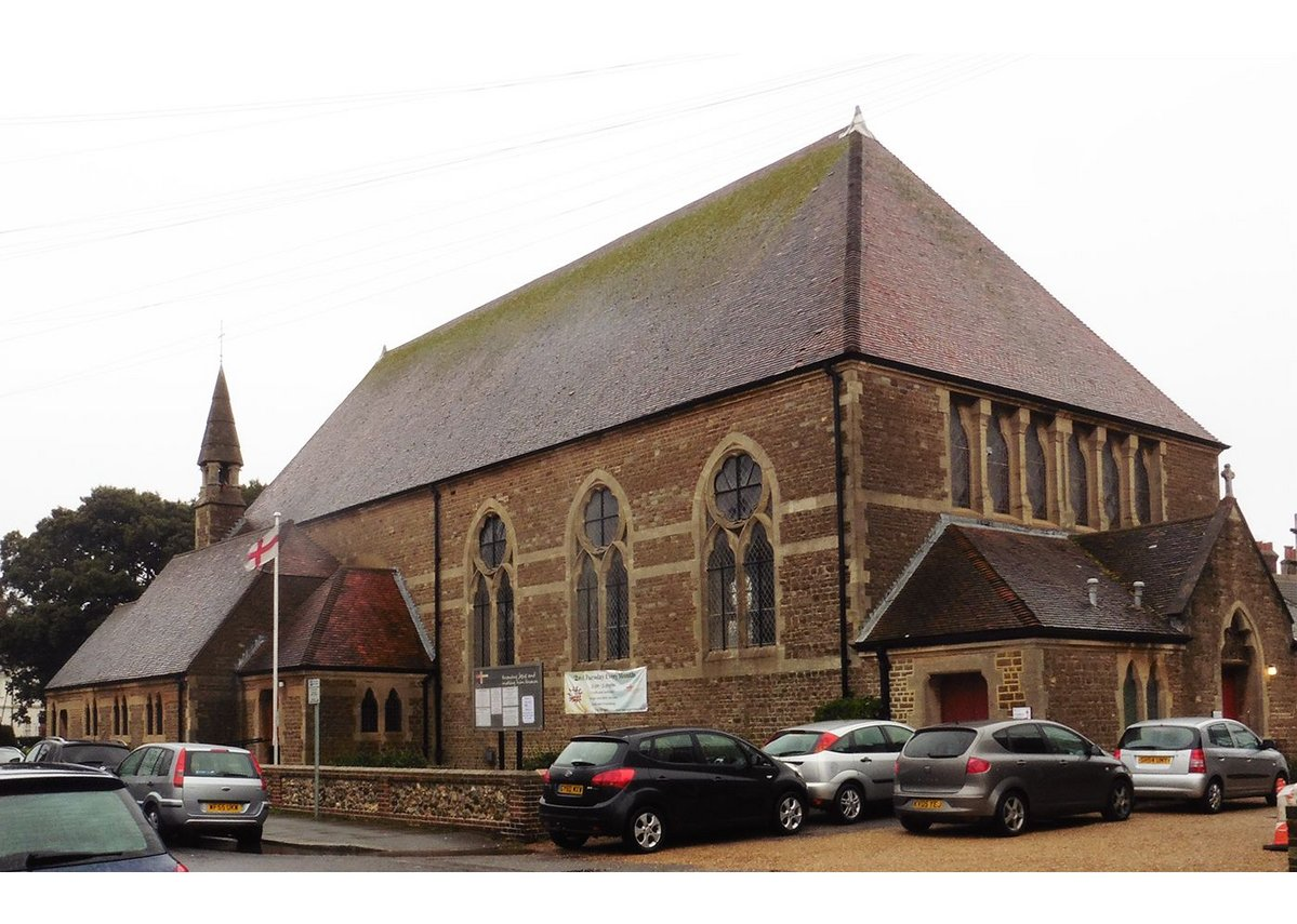St George's Church in Worthing designed by George Truefitt.