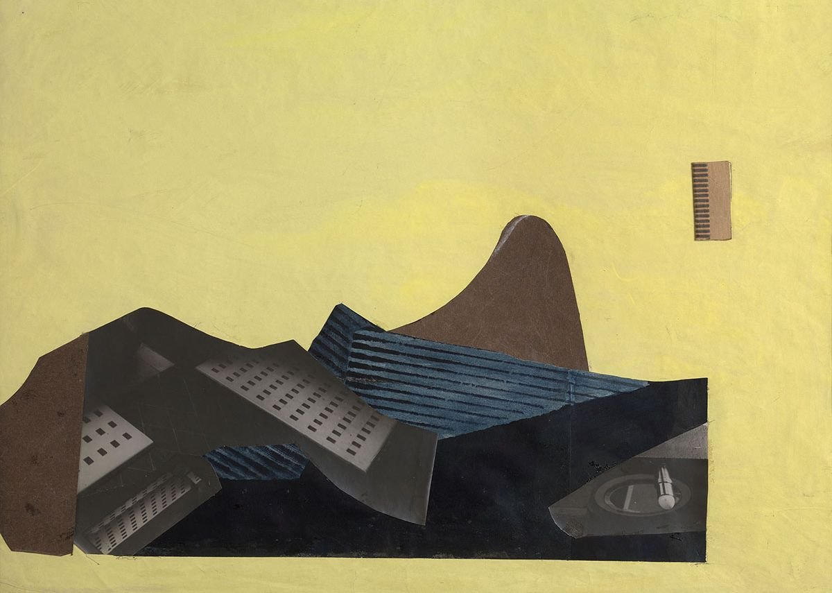 Eileen Gray, Untitled, 1930. Gouache and collage on paper, 41.3 x 51 cms. Exhibited: Centre Pompidou, Paris.