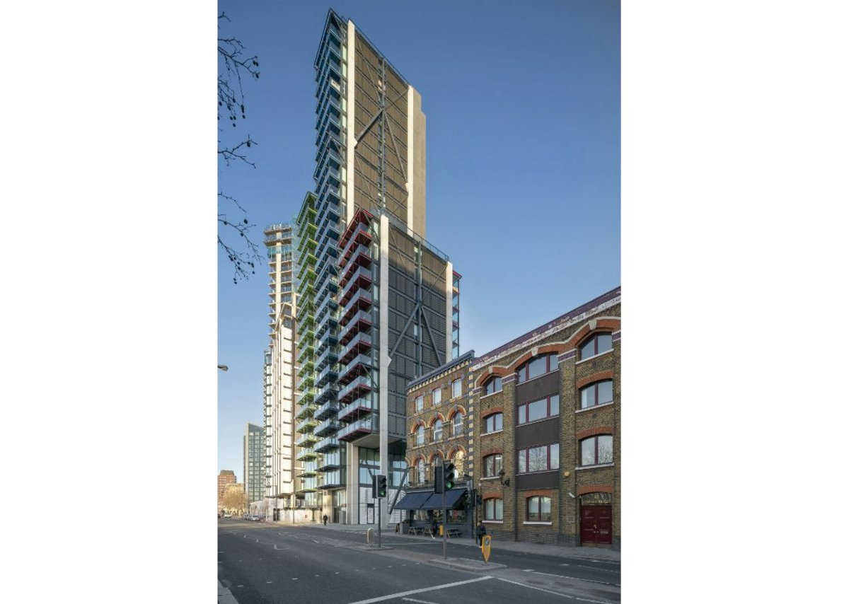 Merano Residences, Lambeth.