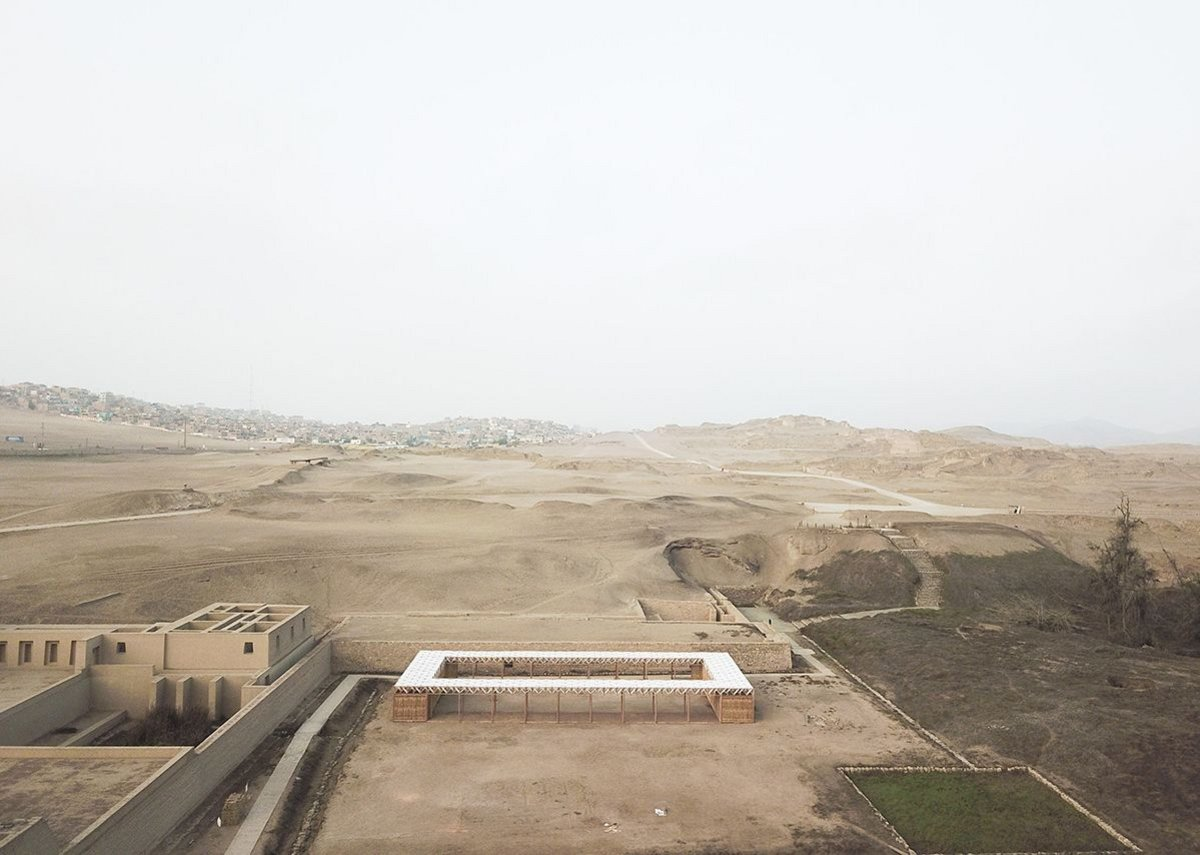 A Room for Archaeologists and Kids, Pachacamac, Peru, designed by Studio Tom Emerson (ETH Zurich) and Taller 5 Juillerat-Manrique (Pontificia Universidad Catolica del Peru).