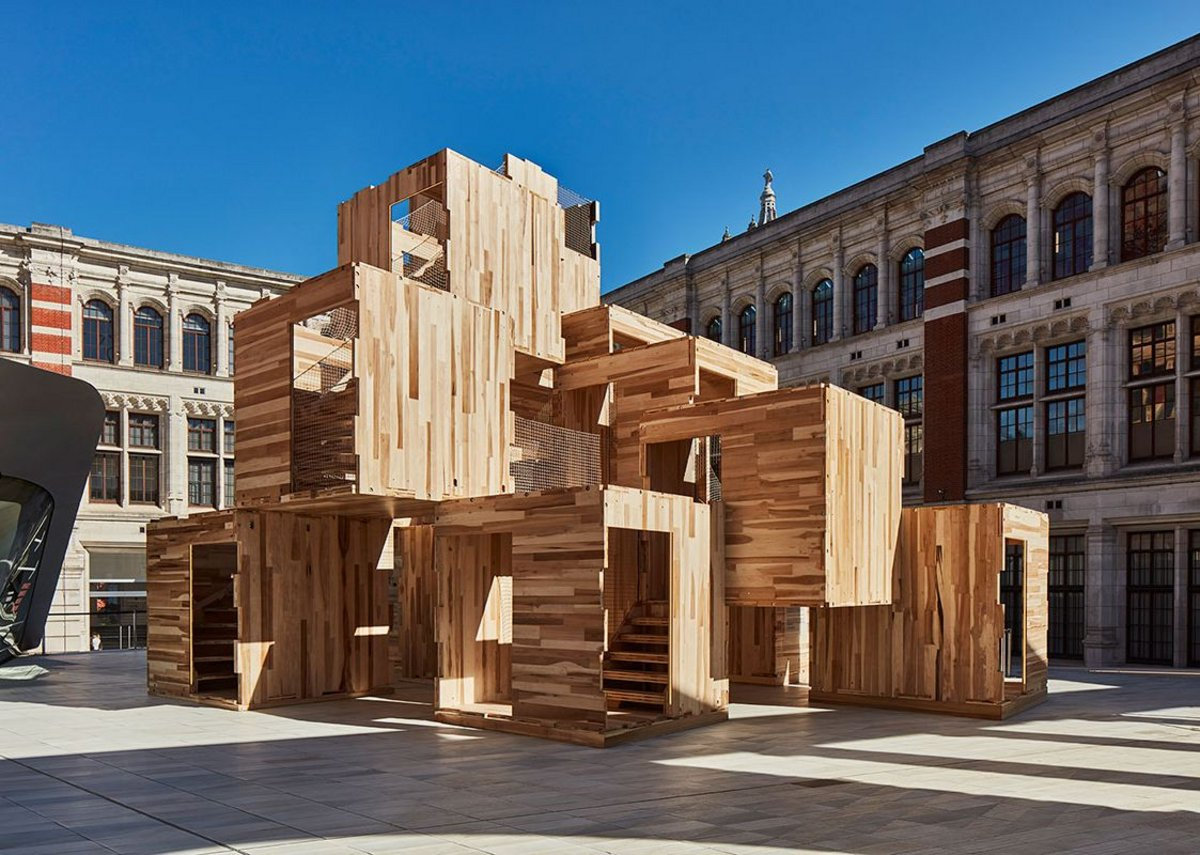 MultiPly by Waugh Thistleton (part of 2019's talks programme), AHEC and Arup.