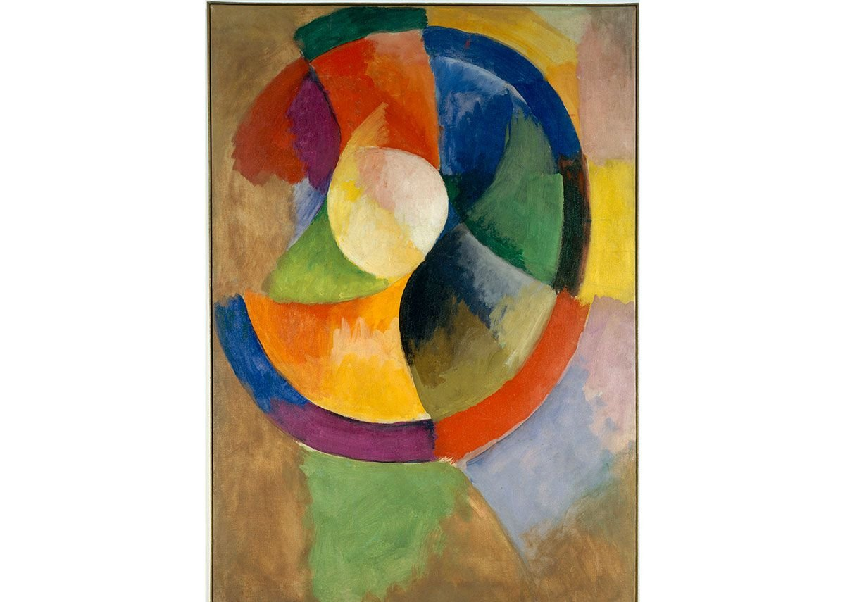 Robert Delaunay, Formes circulaires, Soleil n°2,1912-1913, Courtesy of Centre Pompidou, Paris. Photo © Centre Pompidou, MNAM-CCI, Dist.RMN-Grand Palais/Jacques Faujour