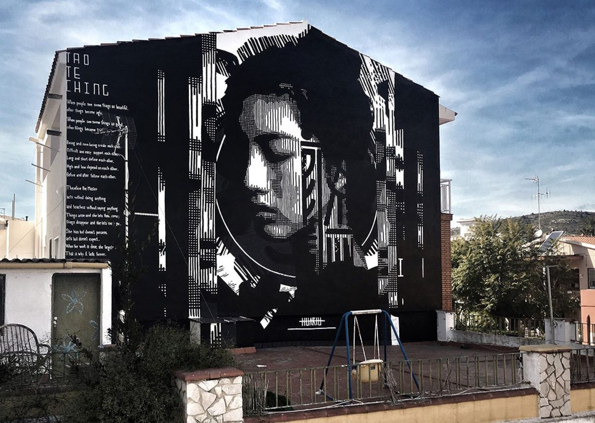 "HUARIU ""Tao Te Ching: Chapter ll"" Torreblanca, Spain 2019."