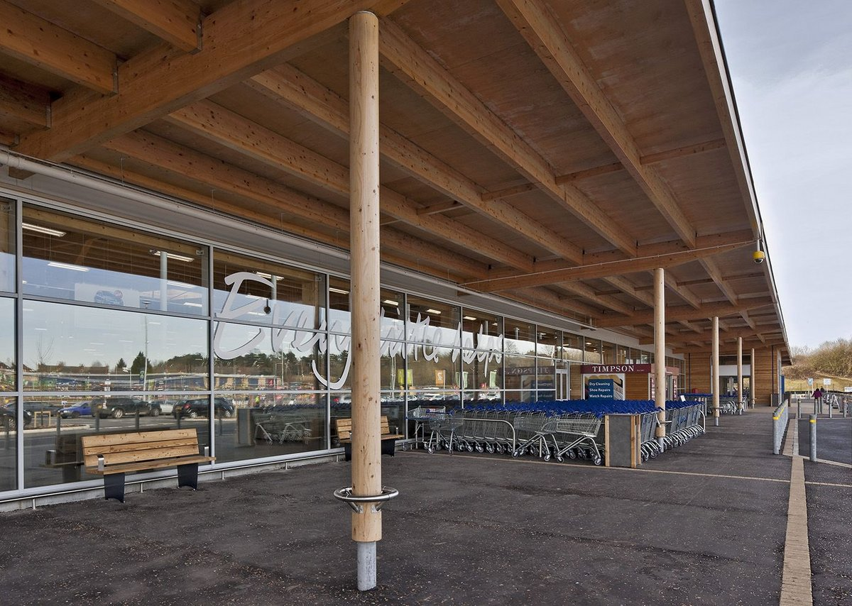 Tesco St James by Woods Hardwick.