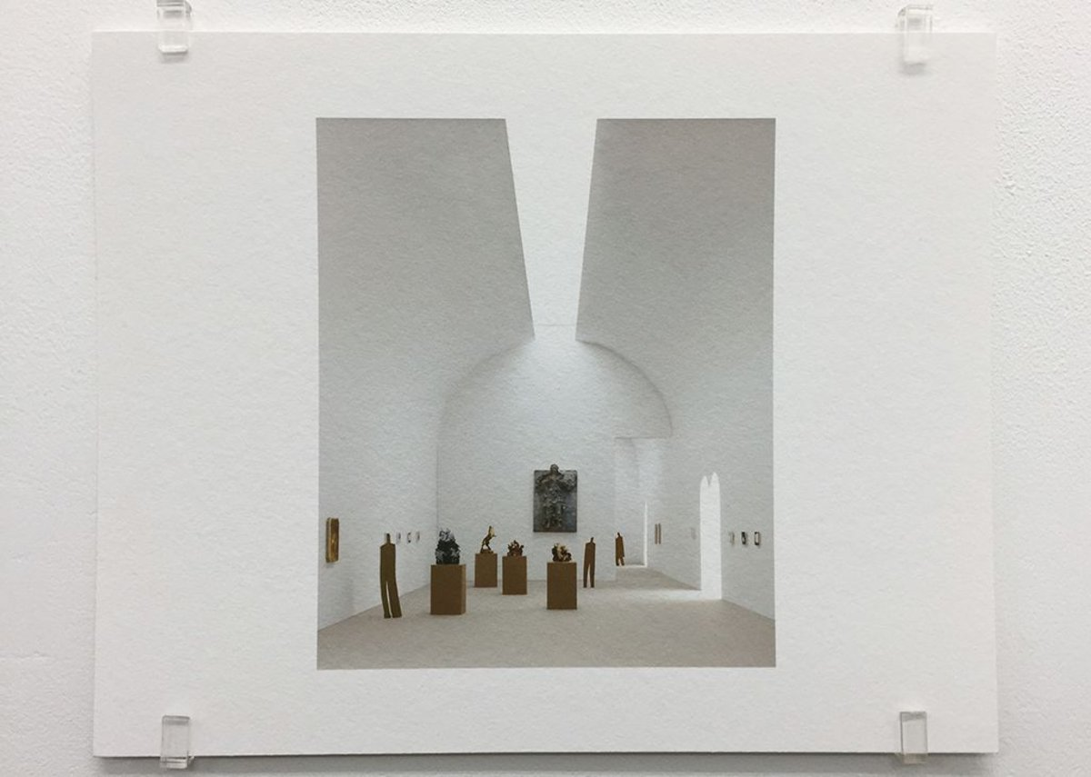 Caruso St John, Museo Diocesano, Milan (2007), 2017, photograph, 16.8 x 21 cm, edition of 7.