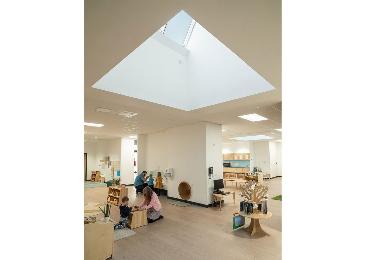 Velux Northlight: A rooflight series for sloped, shed or saw tooth roofs.