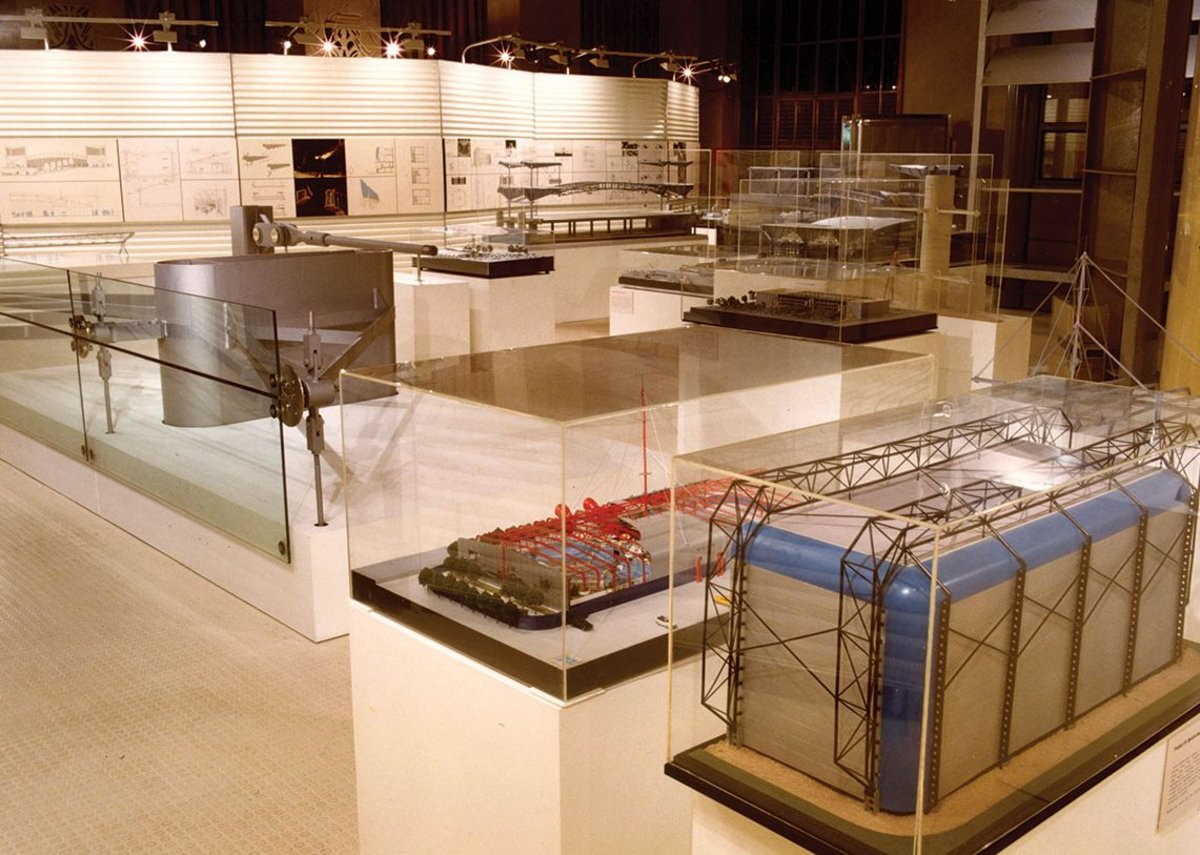 1993: Structure, Space and Skin exhibition, Florence Hall, RIBA, UK.
