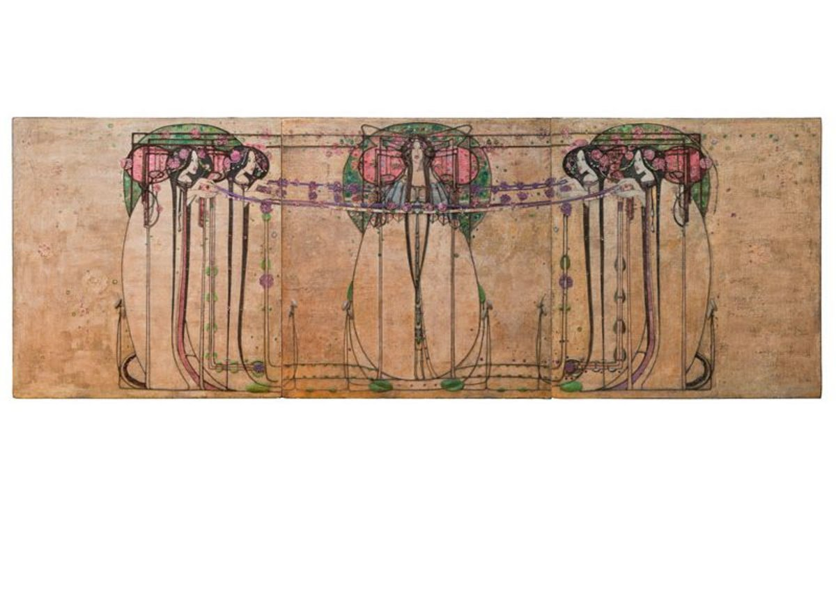 Margaret Macdonald Mackintosh, The May Queen, 1990.