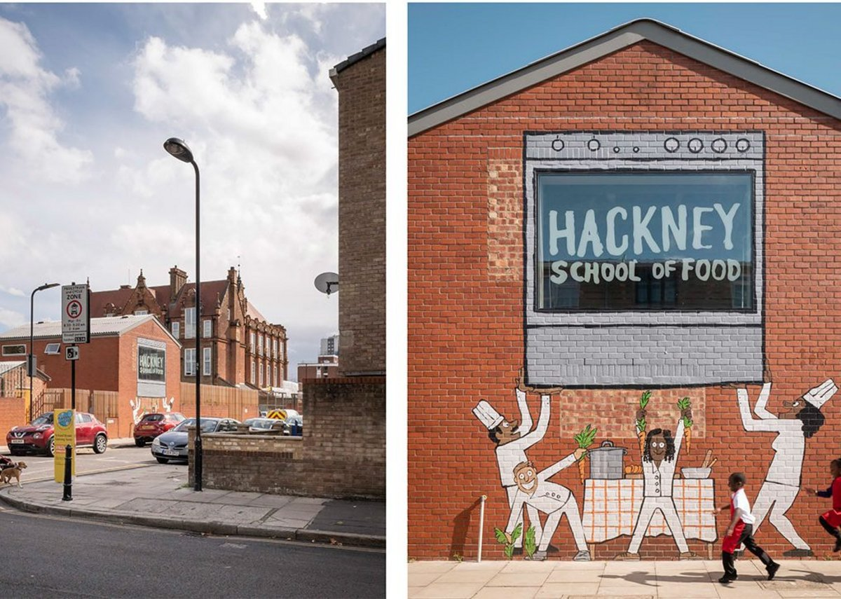 Hackney School of Food.