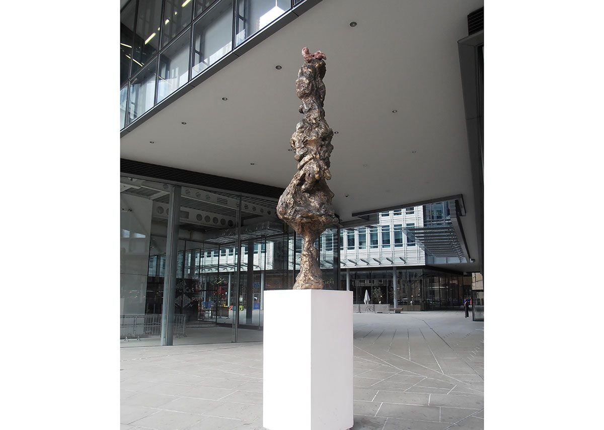 Rebecca Warren's William at Central St Giles, London