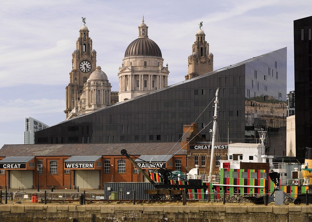 Angular and modern, rather like its neighbouring Museum of Liverpool, the Mann Island development sits between the proud industrial and civic architecture of Liverpool's dockside.
