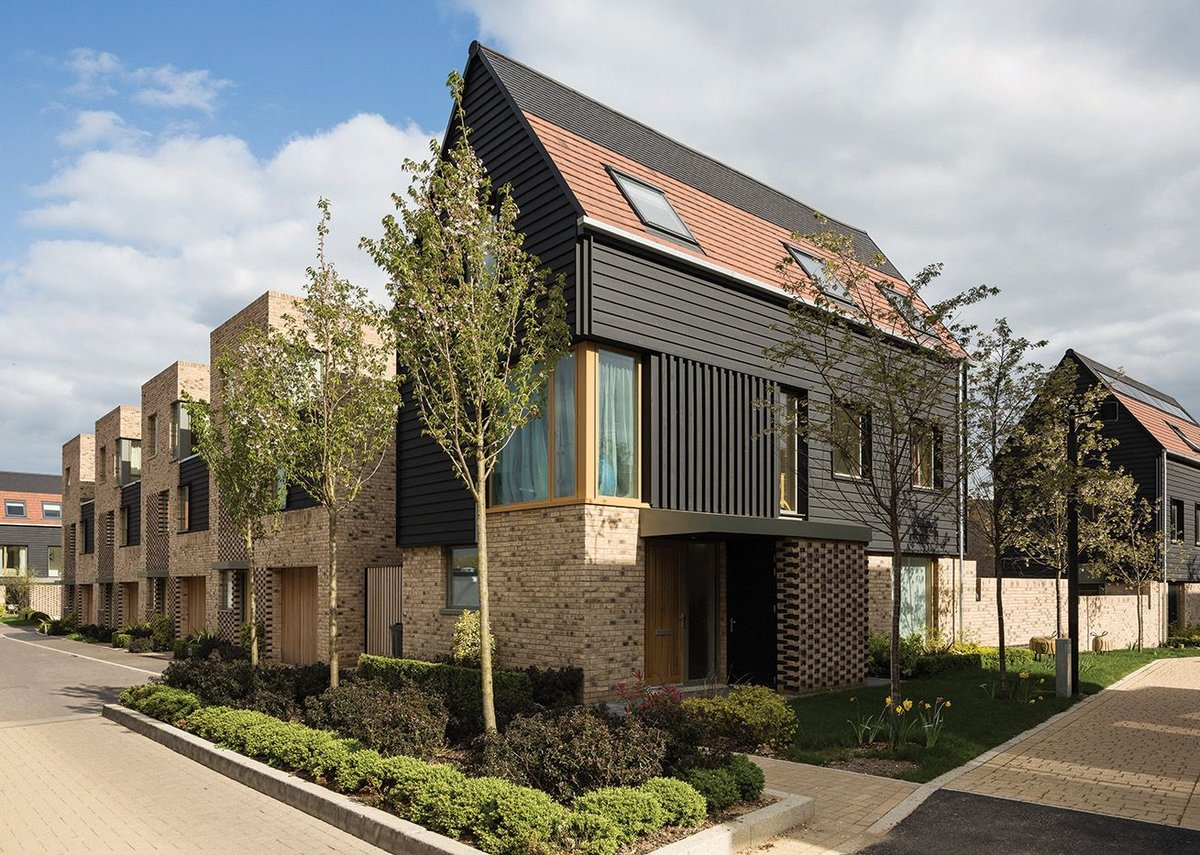 Long houses, little lanes and typologies to fit how we live now homes at Great Kneighton.