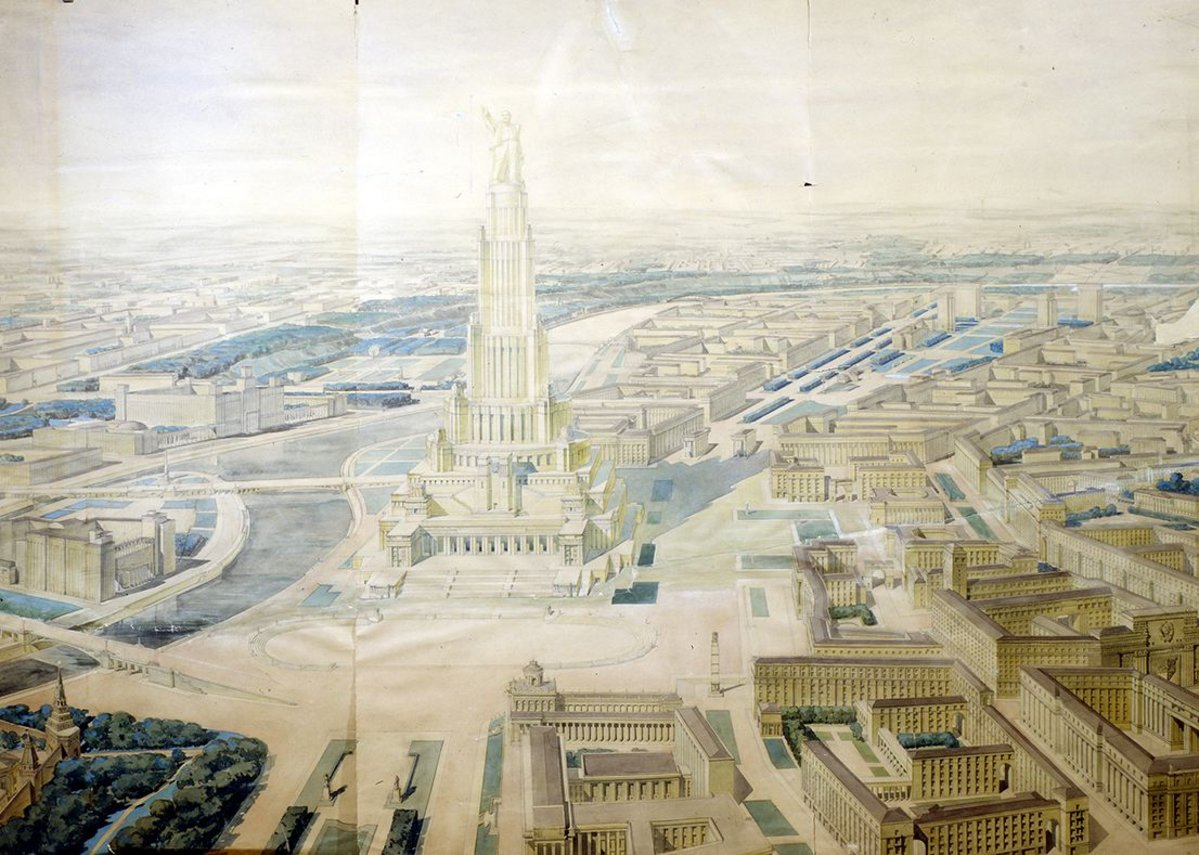 Palace of the Soviets by Boris Iofan.