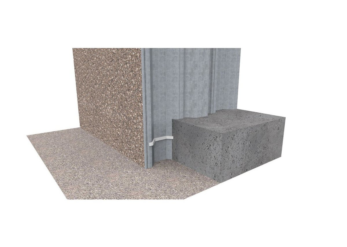 When a Grade 1 internal environmental is required, a high quality concrete structure with hydrophilic waterbars in the construction joints can score 1.1 - 1.9 on the NWI