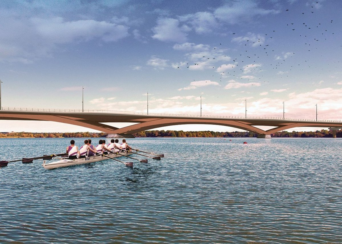 The Kingston Third Crossing in Ontario, a competition BEaM won in 2018.