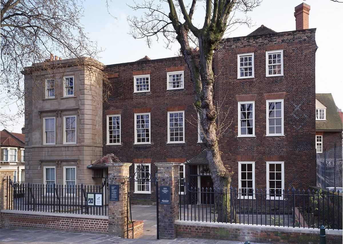Sutton House today after restoration.