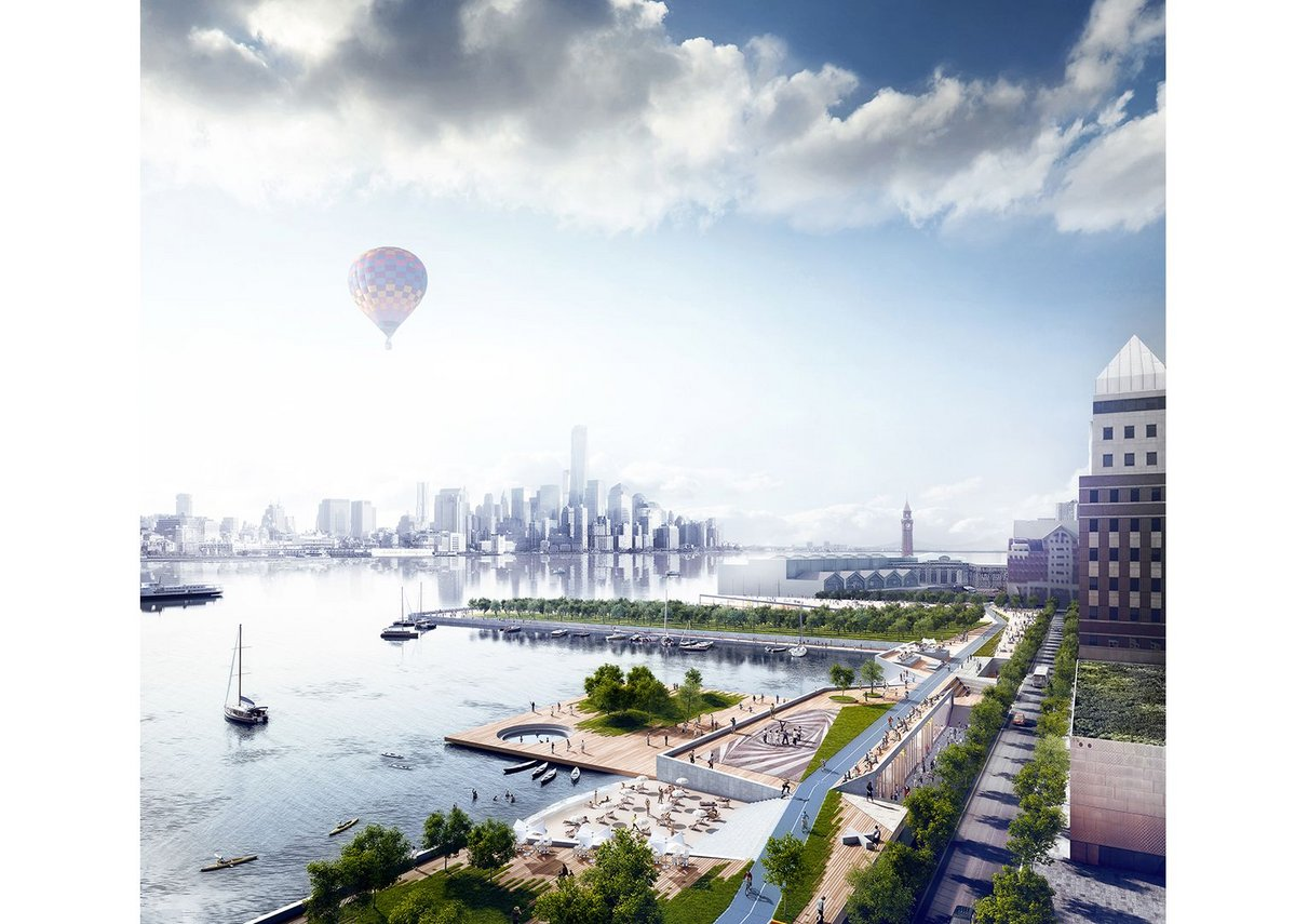 Ideas for rebuilding Hoboken, New Jersey after Hurrican Sandy.