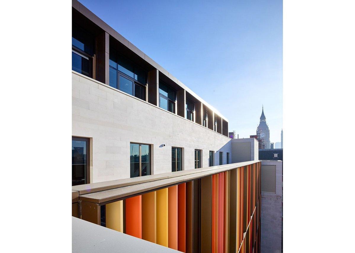 New Scotland Yard Westminster London by AHMM