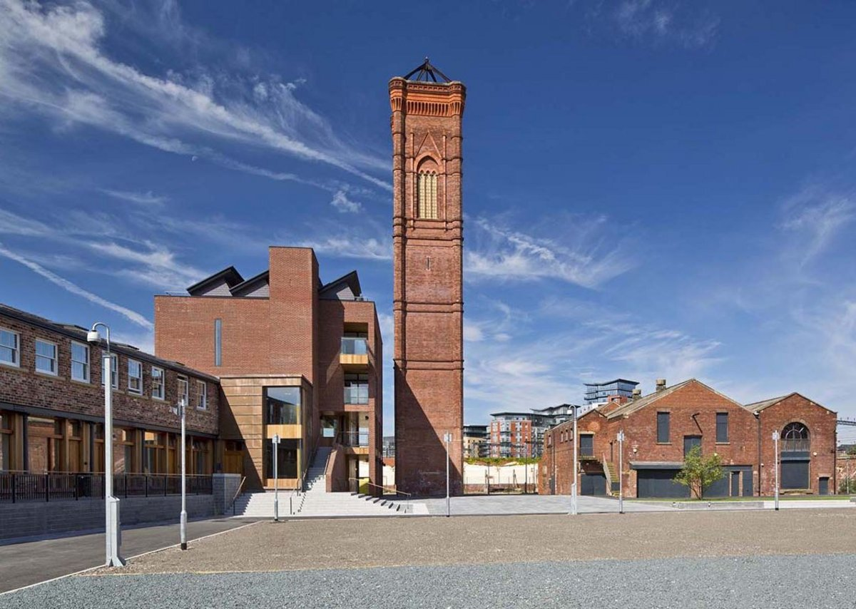 Bauman Lyons is bringing the grade II listed Tower Works back to life in Holbeck, Leeds.