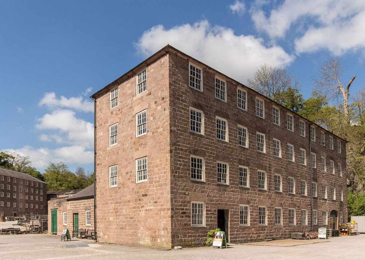 James Boon Architects, feasibility study for the grade 1 listed Cromford Mills, Derbyshire. The study was funded by the Architectural Heritage Fund and National Lottery for the conversion of the mills into a café and offices.