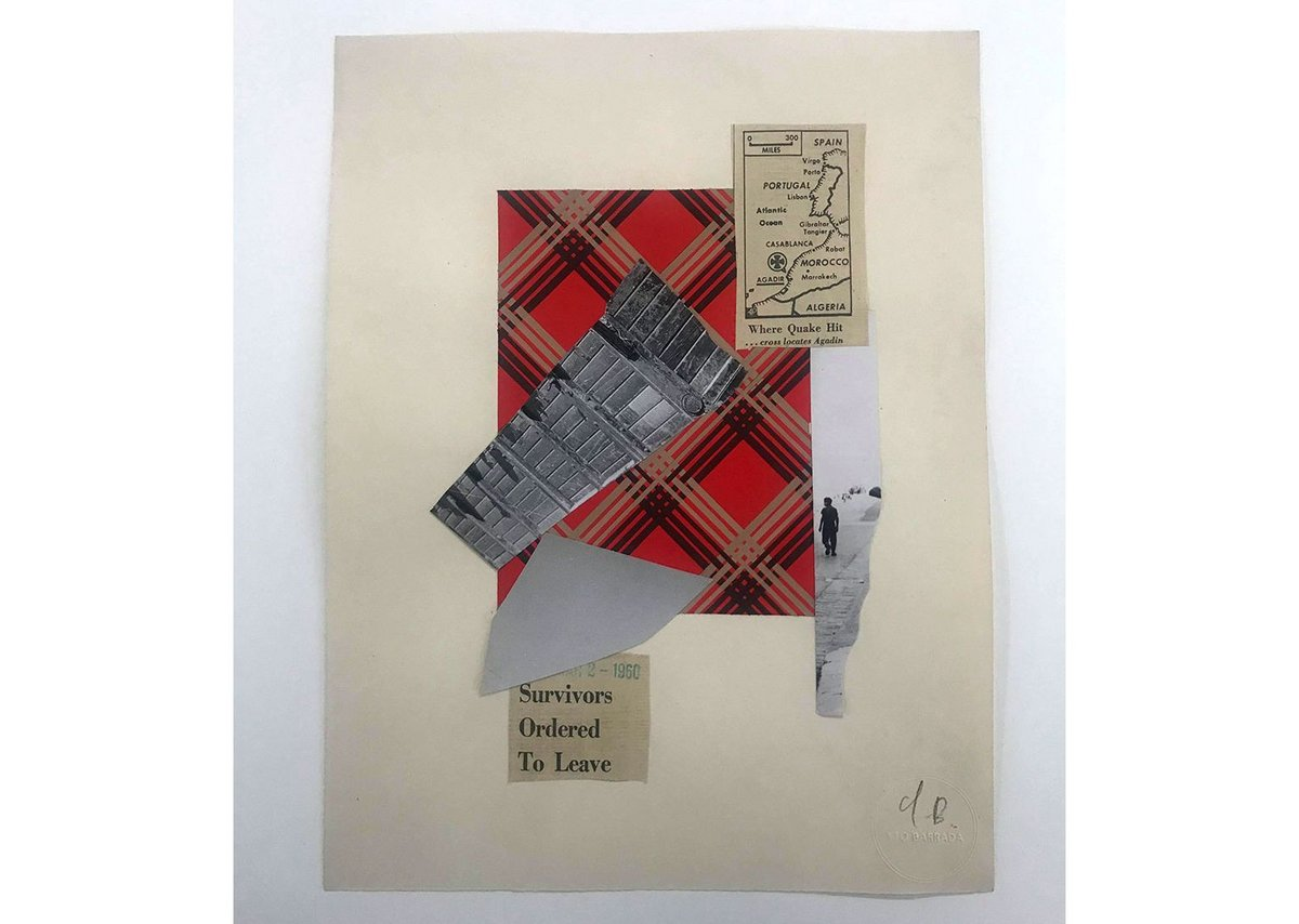 Collage © Yto Barrada, courtesy Pace Gallery; Sfeir-Semler Gallery, Hamburg, Beirut; and Galerie Polaris, Paris