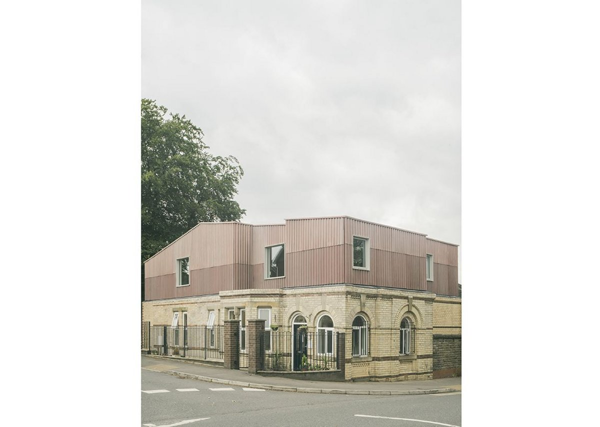 EBBA's extension to a pre-school in Manchester, completed in 2019.