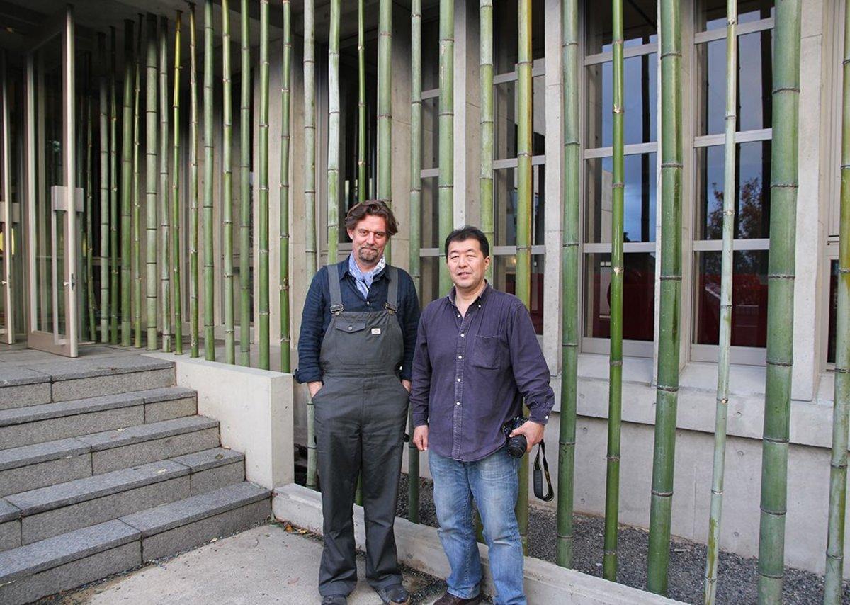 One-off partnership in Japan - Todd with fellow Penn alumnus Kibo Hagino