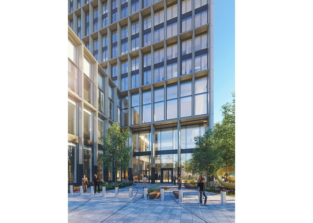 The building has been constructed primarily from a steel structure to ensure it can be completed in the two-year timeframe. Upcoming EMA headquarters, Dutch Central Government Real Estate Agency.