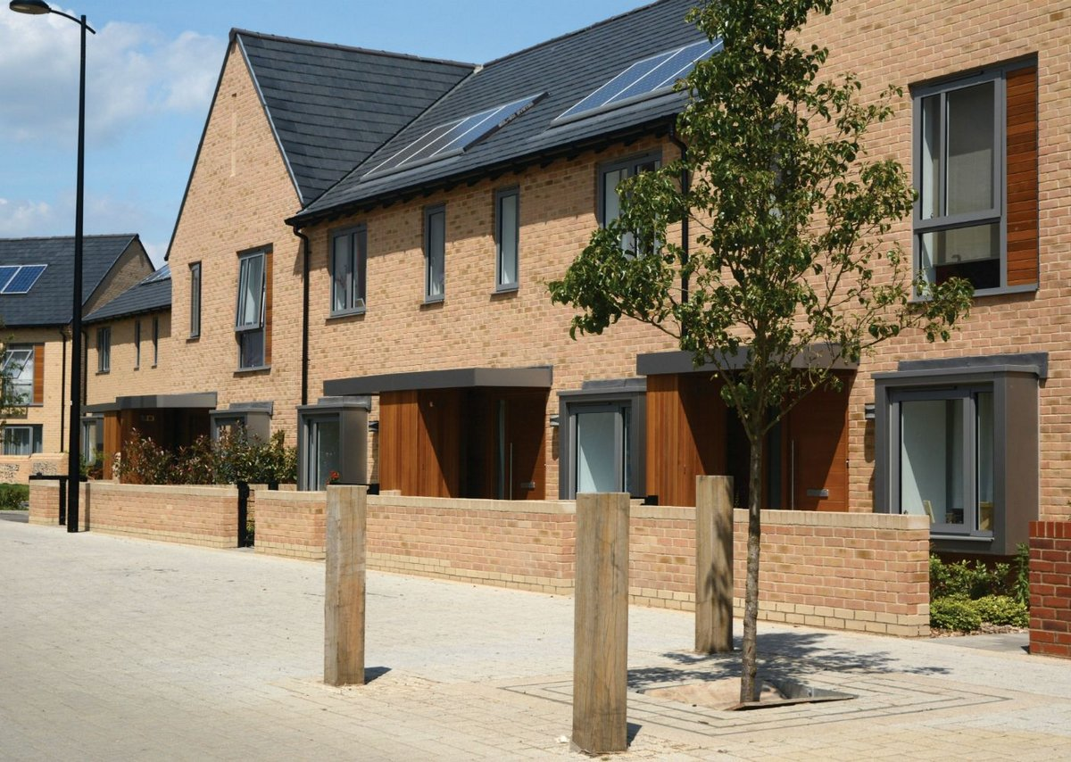 Volume House Building Award: Trumpington Meadows, Allies and Morrison