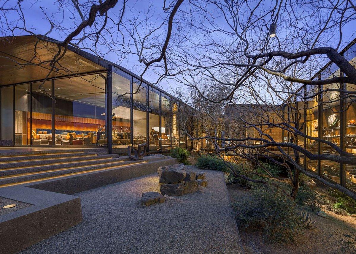 Desert courtyard house by wba