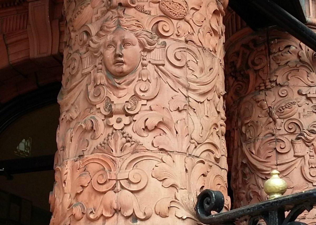 Historic terracotta in Leeds.