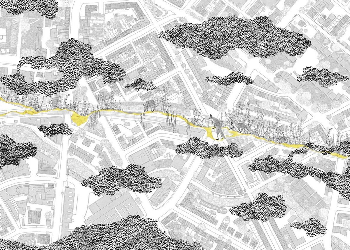 Ideas for Camden High Line, shortlisted Benedetti Architects