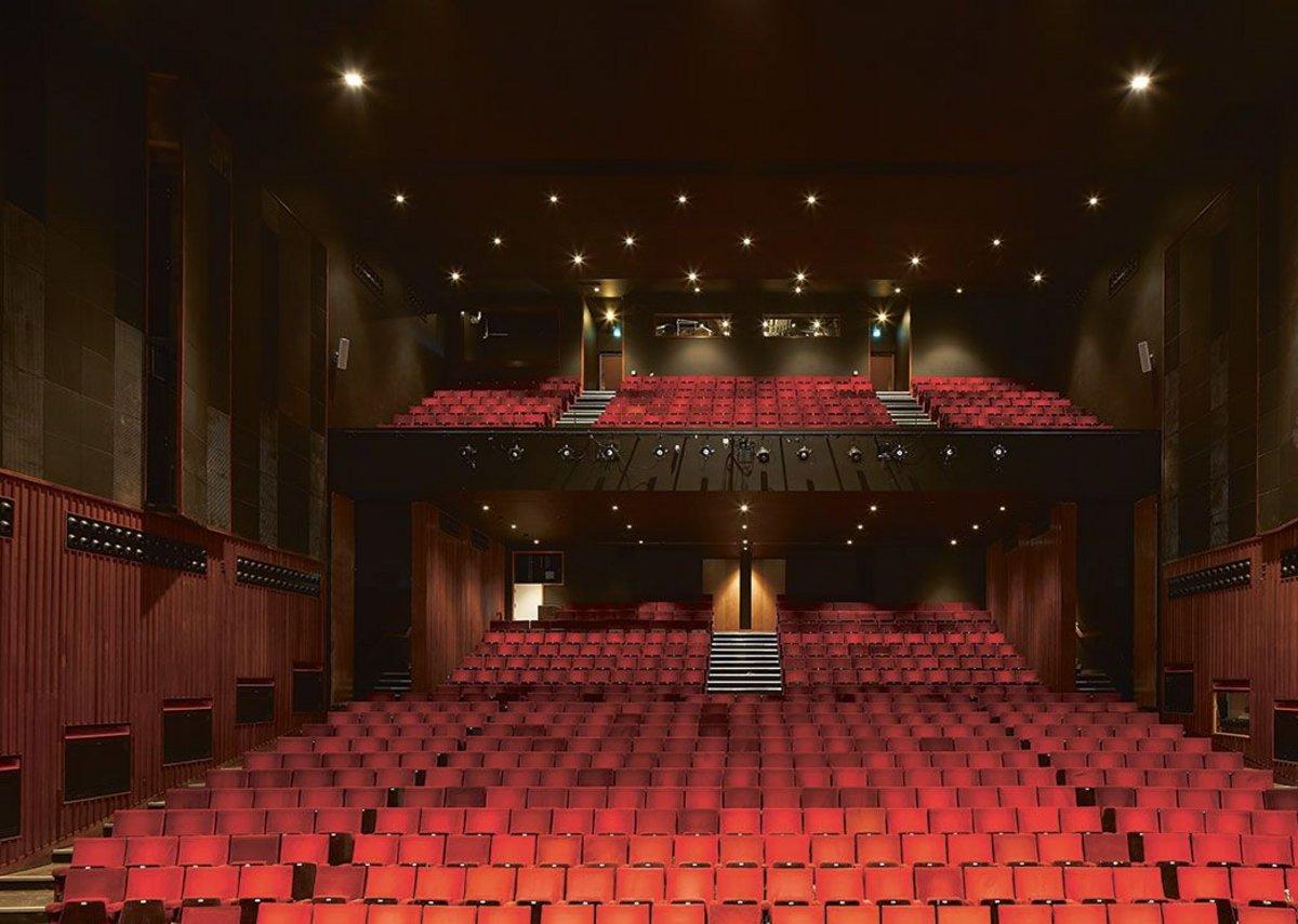 In the Ashcroft theatre.