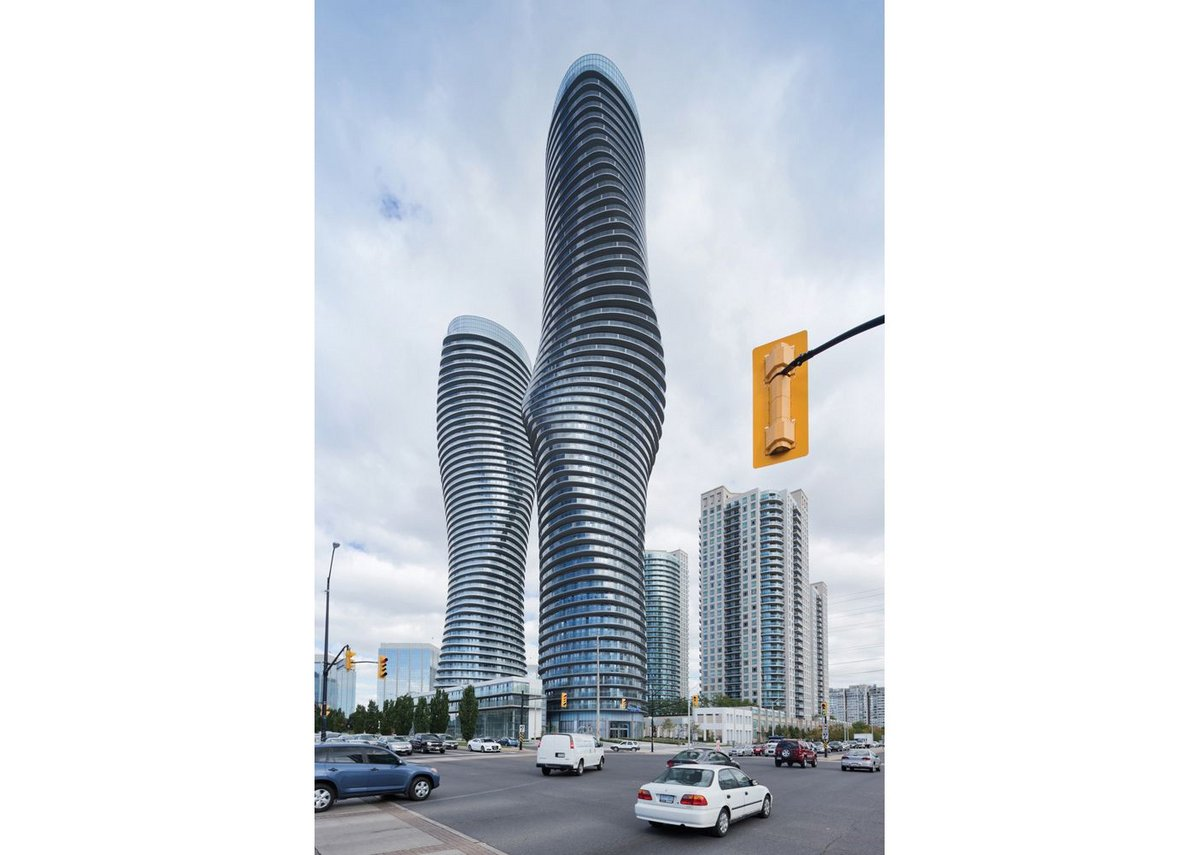 The Absolute Towers outside Toronto are 'soft and romantic, not mechanical. You cannot capture the logic behind them.'