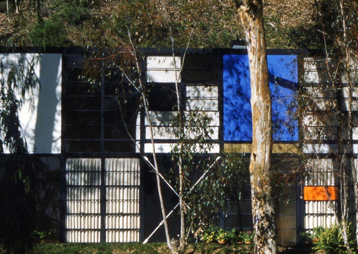 Eames House exterior.