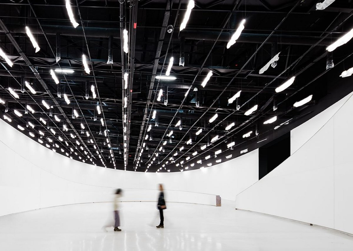 The Oval gallery is the 1000m2 heart of the new MAAT museum.
