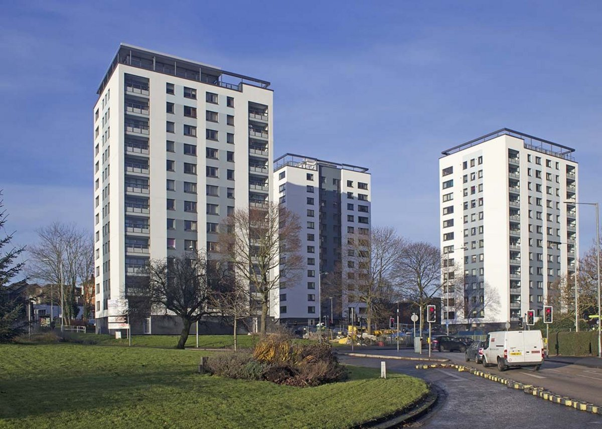 Worcester High Rise – Winner, Domestic Refurbishment – High Rise category (Structherm and VolkerLaser)