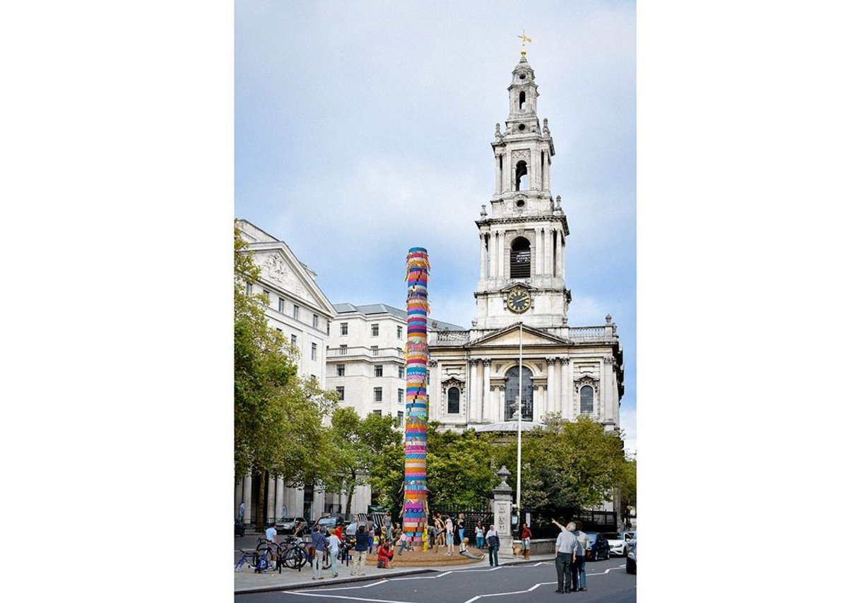 Kennedy's Scale Rule was one of a number of Rising Star practices that were shortlisted for the London Festival of Architecture's Modern Maypole competition.