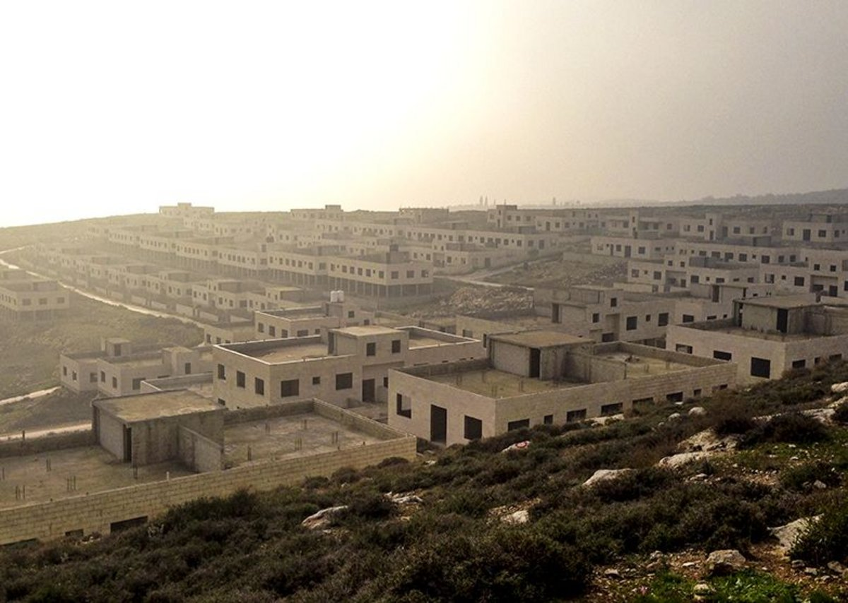 One project will complete this stalled 174-home site outside Nablus.