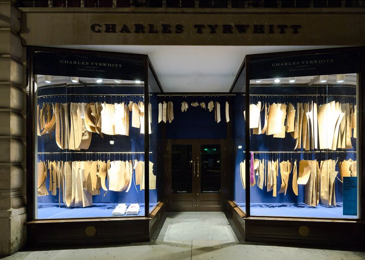 Charles Tyrwhitt with Bureau de Change.