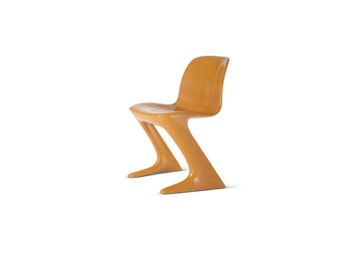 Kangaroo chair, designed by Erhst Moeckl (1971).