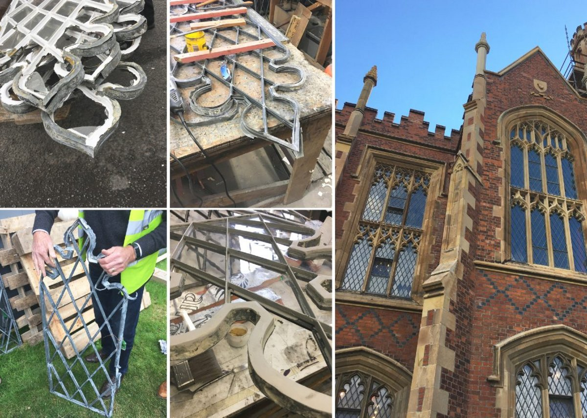 The Lanyon Building Conservation and Restoration Project, Belfast.