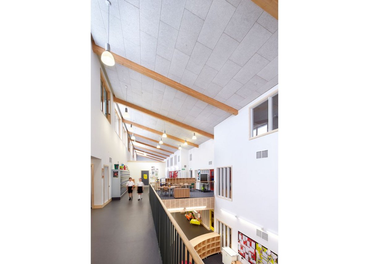 Wilkinson Primary School upstairs atrium