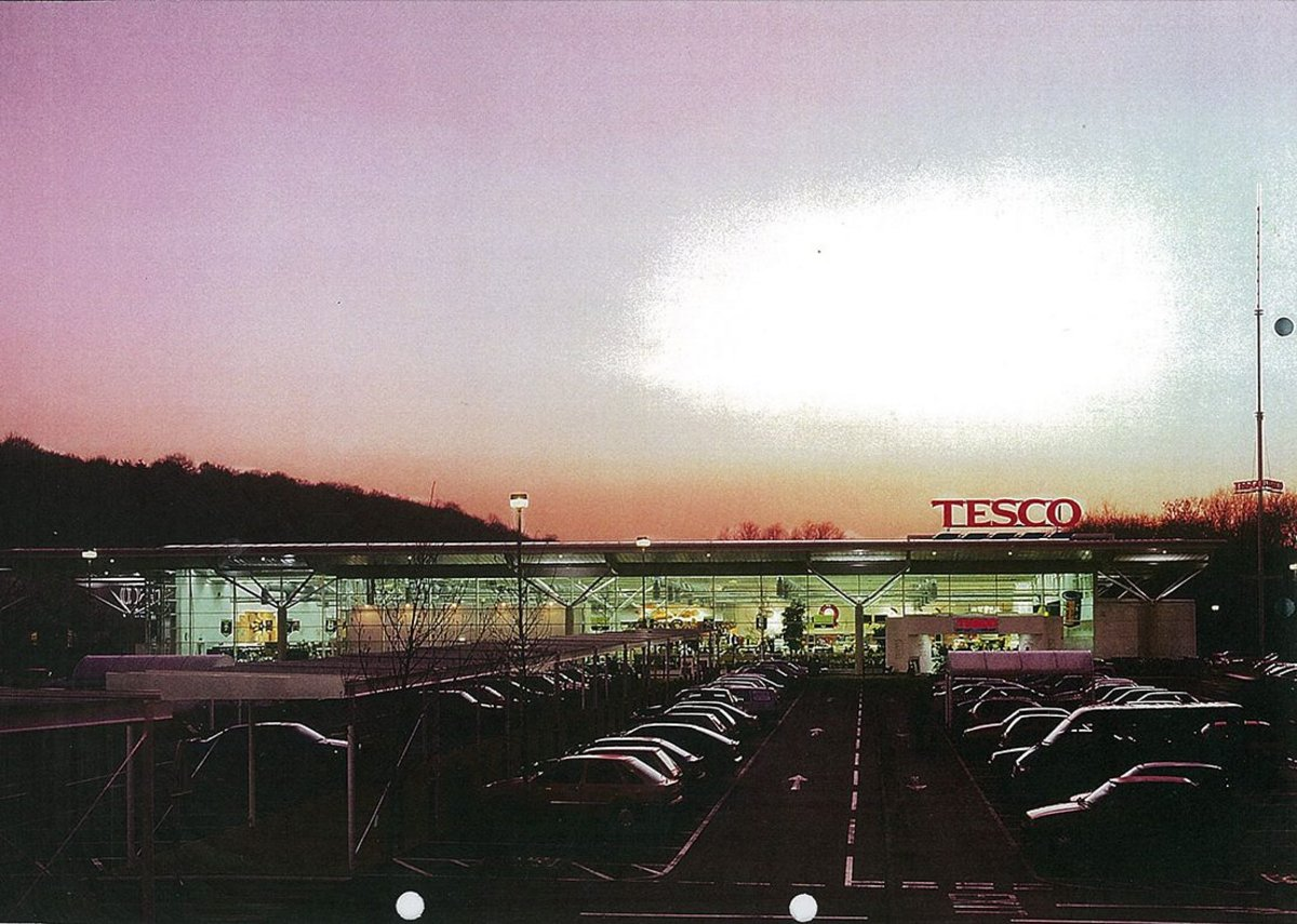 The 1997 Tesco store in Sheffield. Credit Timothy Soar