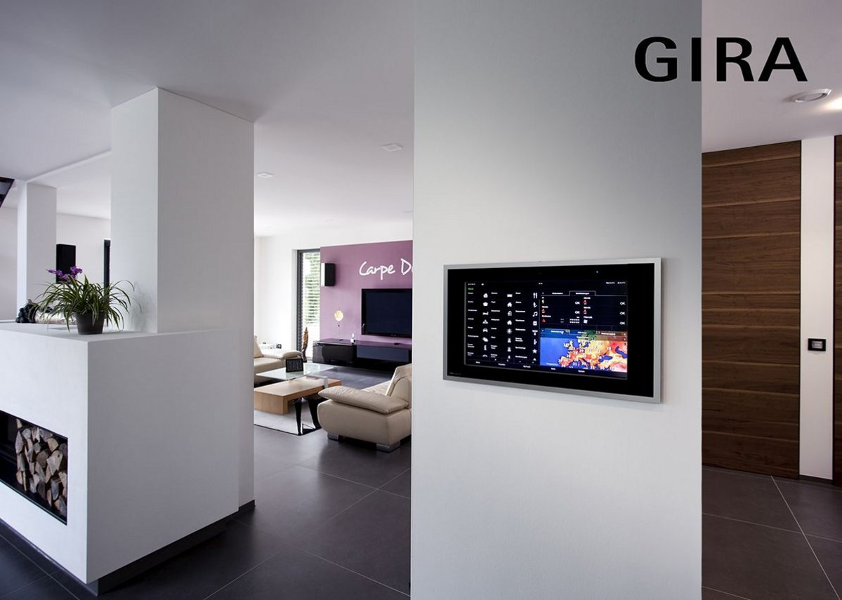 With the KNX system, Gira combines various home technology elements for building automation