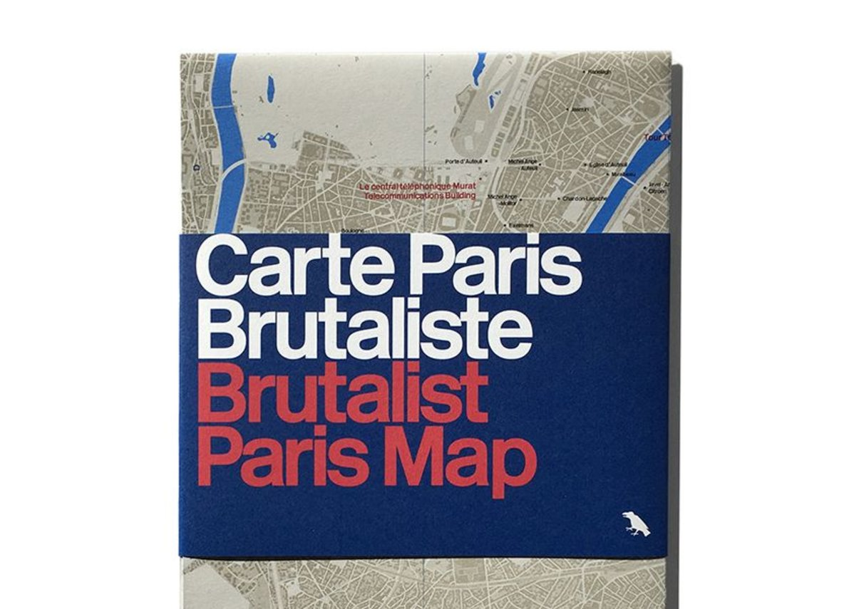 All the brutalist buildings on the map are outside the Périphérique.