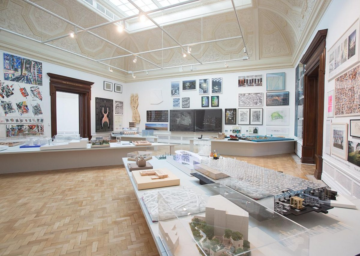 A more generous space for architecture than other years at the RA.