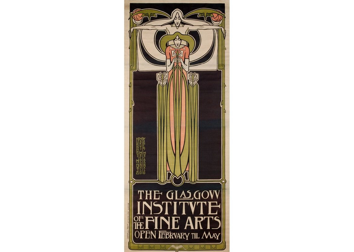Frances Macdonald, Margaret Macdonald Mackintosh and James Herbert McNair, Glasgow Institute of Fine Arts, date unknown.
