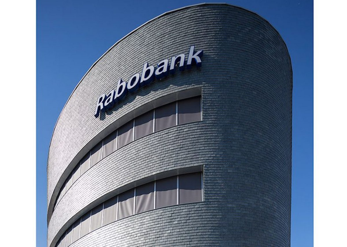 SSQ Riverstone phyllite natural stone vertical cladding at Rabobank Group headquarters in Eindhoven, Holland. Conventional dressed roofing slates, deliberately small in size (30x20cm), were used for vertical cladding fixed with hooks for added security and longevity.